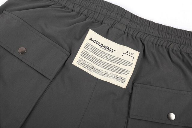 Nouveau A-COLD-WALL ACW pantalon hommes femmes Streetwear Hip Hop pantalons de sport décontracté és pantalons de jogging en vrac A-COLD-WALL Kanye West pantalon