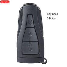 KEYECU Ersatz Smart Remote Auto Schlüssel Shell Fall Fob Gehäuse Abdeckung 3 Taste für MG6