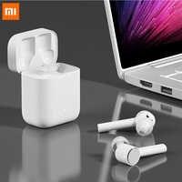 חדש מקורי Xiaomi Airdots פרו TWS אוזניות Bluetooth אוזניות סטריאו ANC מתג ENC אוטומטי להשהות שליטה ברז אלחוטי אוזניות
