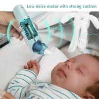 Уход за ребенком, носовой пылесос, водонепроницаемый, Электрический Очиститель носа, с успокаивающей музыкой, для младенцев, носовой всасыв...