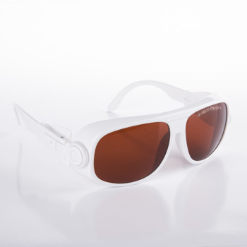 O.D 4+ laser safety glasses for 190-540nm and 800-1700nm, included 405 450 473 530 532 808 810 980 1064 1320nm lasers - discount item  20% OFF Workplace Safety Supplies
