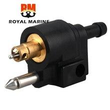 Macho 6mm conector de combustível de popa 6g1 24304 02 para yamaha parsun hidea tubo de mangueira de tanque 6g1 24304 barco a motor