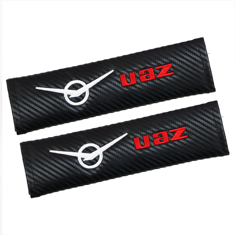 6 pieces/lot Car Styling Auto Sticker Shoulder Pads Cover Case For <font><b>UAZ</b></font> <font><b>469</b></font> Patriot Car Badge For Hyundai Car-Styling Accessories image