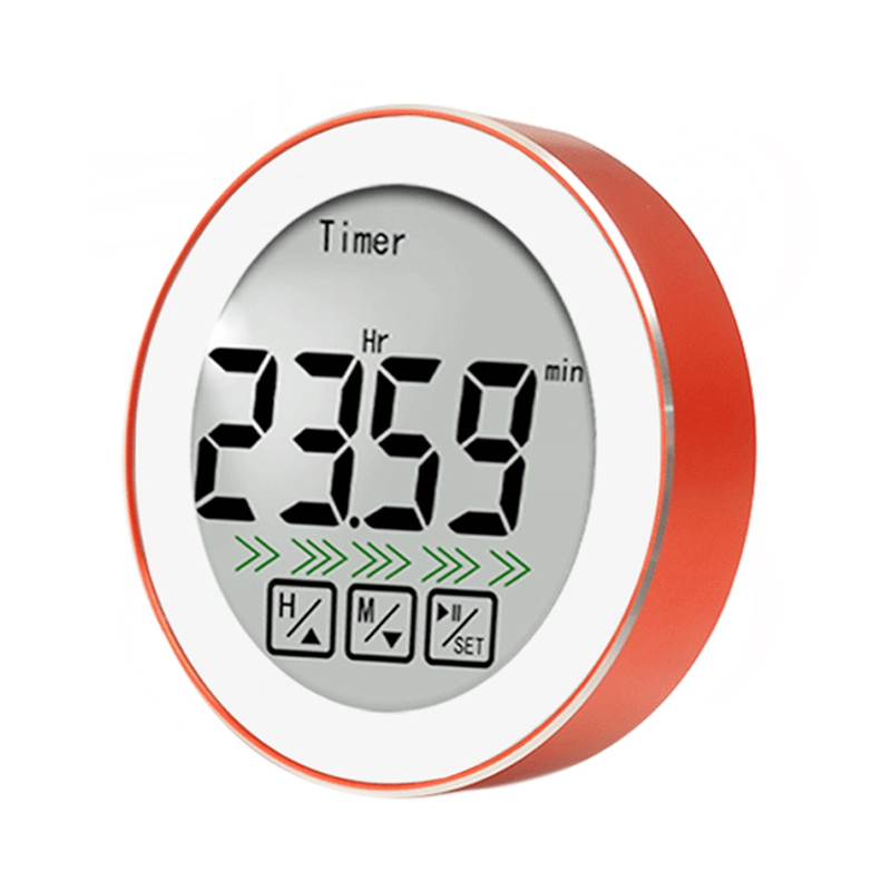 Digital Meat Thermometer Dual Probe Digital Instant BBQ Thermometer Clock Timer For Oven Kitchen Grilling
