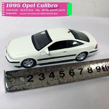 10pcs/lot Wholesale Delprado 1/43 Scale Car Model Toys Germany 1995 Opel Calibra Diecast Metal Car Toy