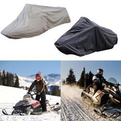 145*51*48 pulgadas de esquí al aire libre cubierta de la moto de nieve protección UV impermeable a prueba de viento cubierta de la nieve cuerda ajustable cubierta de la moto de nieve