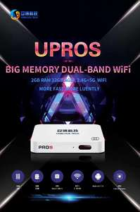 Image 2 - 2019 NEW VERSION UPROS ubox ProS  PROS OS Oversea version HDMI 2.0  TV box Android 7.0 2GB+32GB