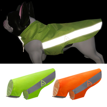 Dog Vest Reflective Fluorescent Small Night-Safety High-Visibility Large for 9-Sizes/xs-5xl
