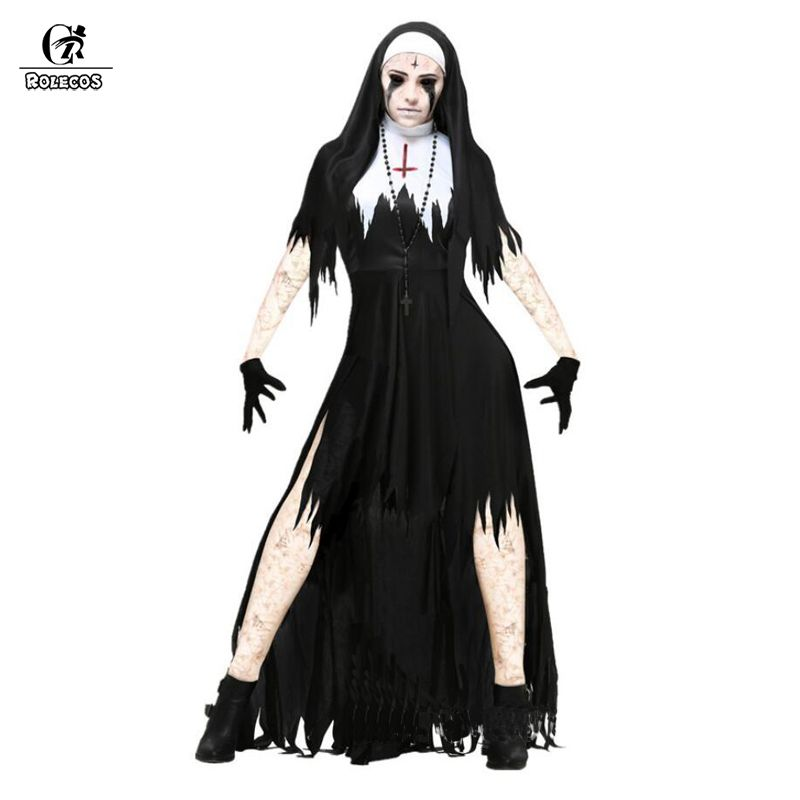 ADULTS HALLOWEEN FANCY COSTUME OUTFIT HORROR VAMPIRE WITCH PSYCHO SCARY DRESS