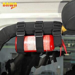 Image 3 - BAWA Feuerlöscher Halter Einstellbare Feuerlöscher Berg Strap für Jeep Wrangler TJ JK JL 1997 + Auto Innen Produkte
