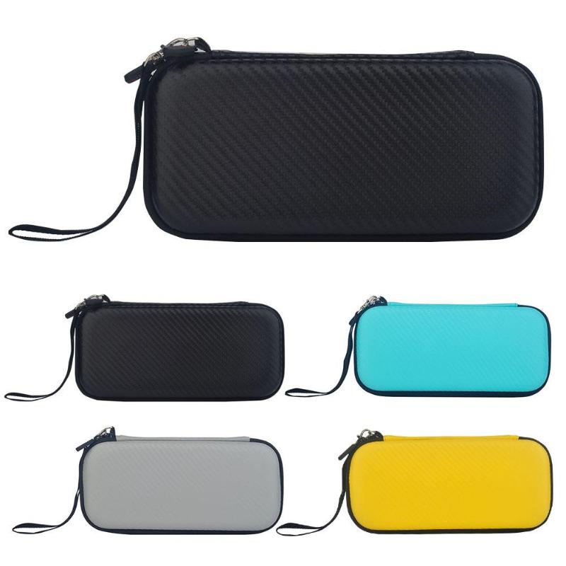 Travel EVA Hard Shell Shockproof Bag Carry Box Fit for Nintend Switch Lite Mini Containing 10 Slots Encrypted Mesh Bag