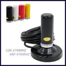 Oppxun راديو Antenne ثنائي الموجات U/V 144/430Mhz 25W 2.15/3.5dBi مكاسب عالية الهواة السيارات راديو Mobiele/محطة Antenne SL16/UHF J/M