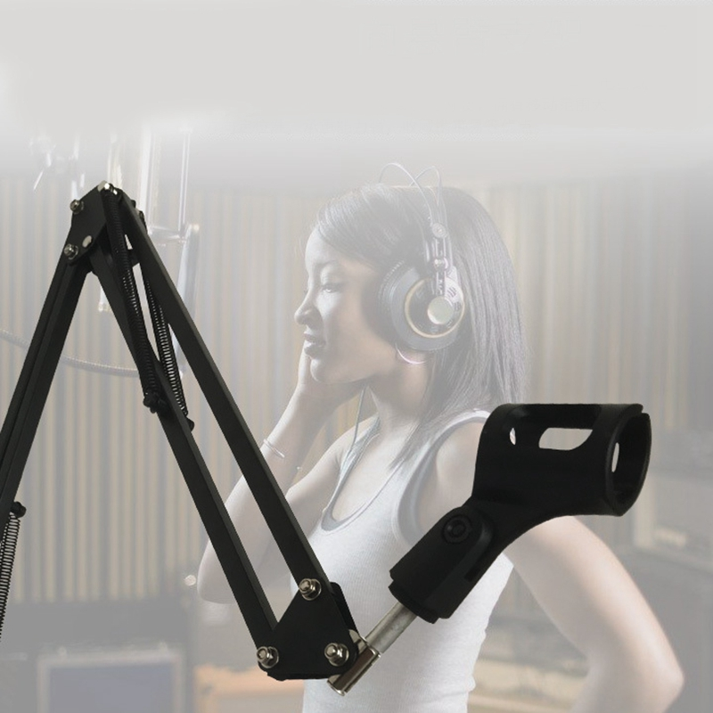 New Recording Microphone Holder Stand Clip Mic Adjustable Suspension Boom Table Bracket with Shock Holder Mount for Microphones - ANKUX Tech Co., Ltd