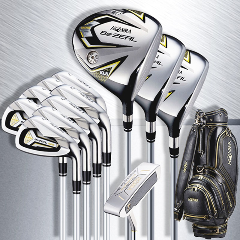 Golf Clubs Full Set HONMA BEZEAL 525 Complete Set BeZEAL Golf driver wood irons putter Clubs Graphite shaft R S SR Headcovers 1