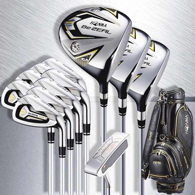 Golf Clubs Full Set HONMA BEZEAL 525 Complete Set BeZEAL Golf driver wood irons putter Clubs Graphite shaft R S SR Headcovers 1