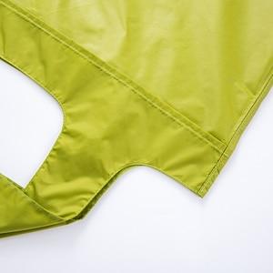 Толстая двухслойная портативная складная сумка для покупок большая нейлоновая сумка Толстая Сумка Складная Водонепроницаемая непромокаемая сумка на плечо