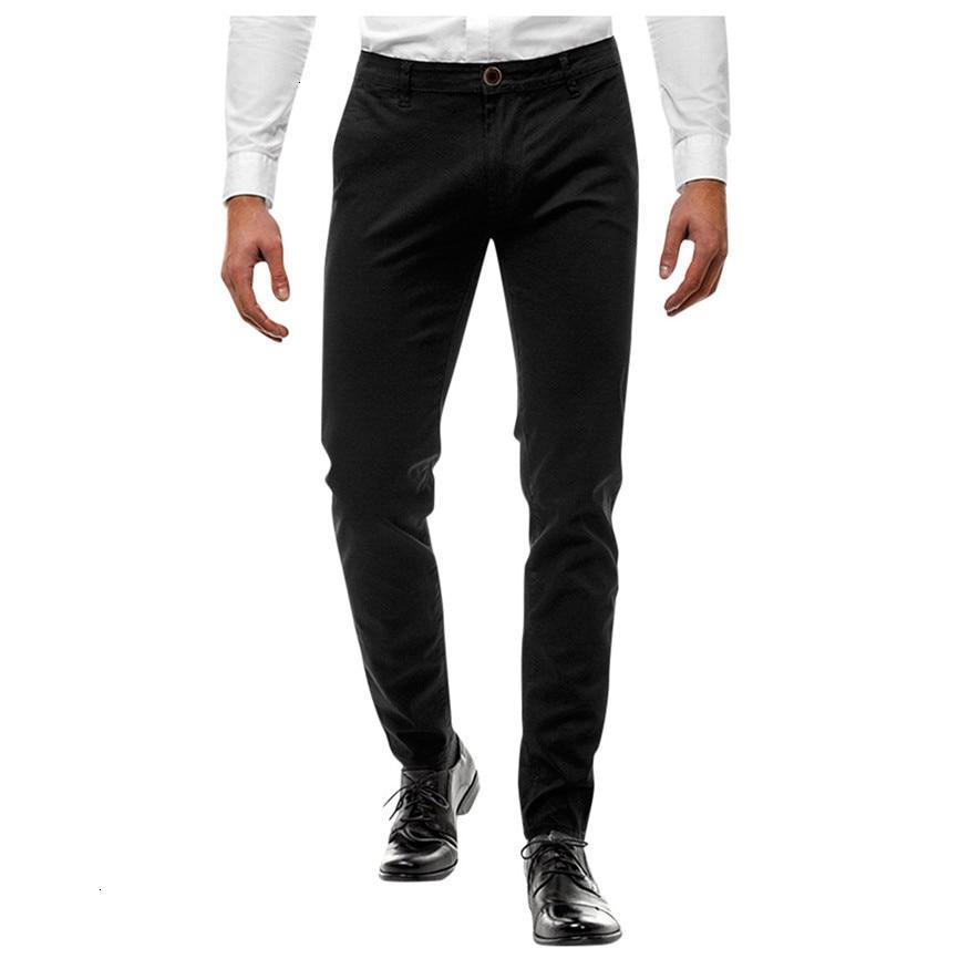 Man Pants Classic Mens Casual Fitness Bodybuilding Pocket Skin Full Length Sports Pants Men Sportswear Men's Trousers