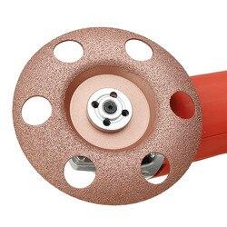 Новый 125 мм просвечивающий диск из карбида вольфрама для формирования дерева, диск для резьбы по дереву для углового шлифовального станка