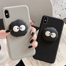 Cartoon 3D Briquettes Phone Case For Oneplus 7T Pro 7 6 6T Coque Silicone Soft Protective Cover For Oneplus 7 Pro(China)