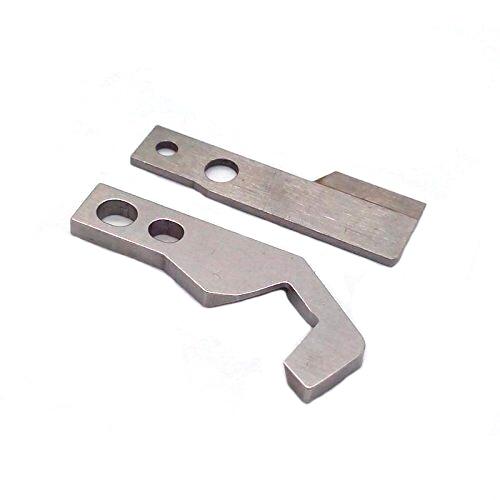 Upper &Lower Knife Blade  #340468+340406 for PFAFF 774,776,783,784,785,787,788 NECCHI