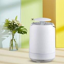 2019 USB zasilany lampa przeciw komarom USB elektryczny fotokatalizator środek odstraszający komary do zabijania owadów lampa pułapka UV inteligentna żarówka w Środki odstraszające od Dom i ogród na