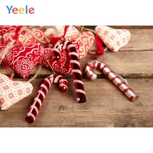 Yeele Christmas Photocall Old Wood Candy Love Heart Photography Backdrops Personalized Photographic Backgrounds For Photo Studio yeele christmas photocall candy old wood gift decor photography backdrops personalized photographic backgrounds for photo studio