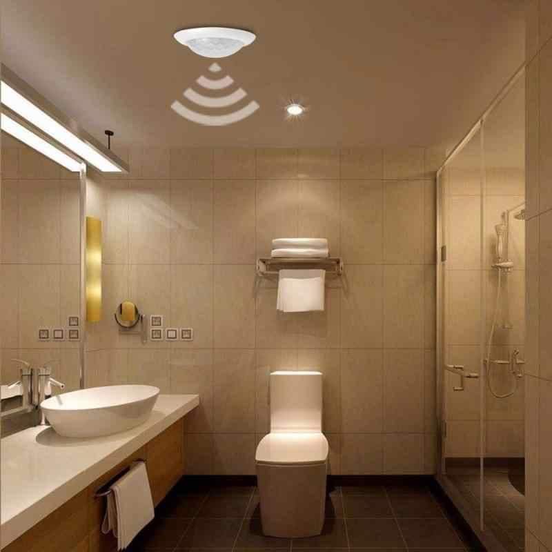 220V PIR MOTION SENSOR Switch 50Hz Inframerah Tubuh Manusia Induksi Sensor Detector On/Off Kontrol Lampu LED aksesoris Lampu