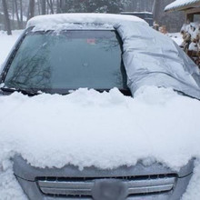 170x120 см автомобильный чехол на ветровое стекло, защита от солнца, защита от снега, мороза, льда, защита от пыли, Универсальный Зимний чехол для автомобиля