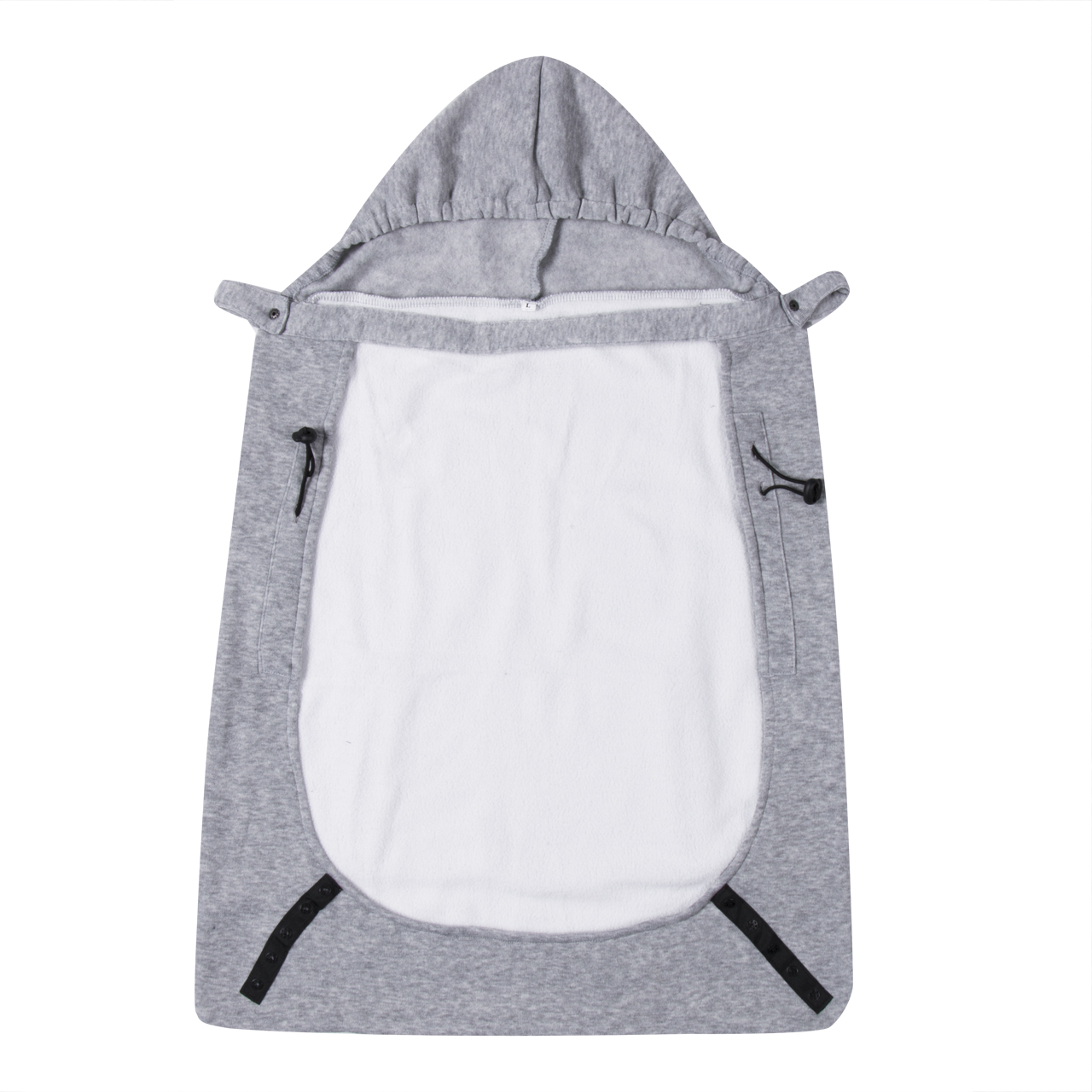Baby Carrier New Warm Wrap Sling Windproof Baby Backpack Blanket Carrier Cloak Grey Funtional Winter Cover Hot