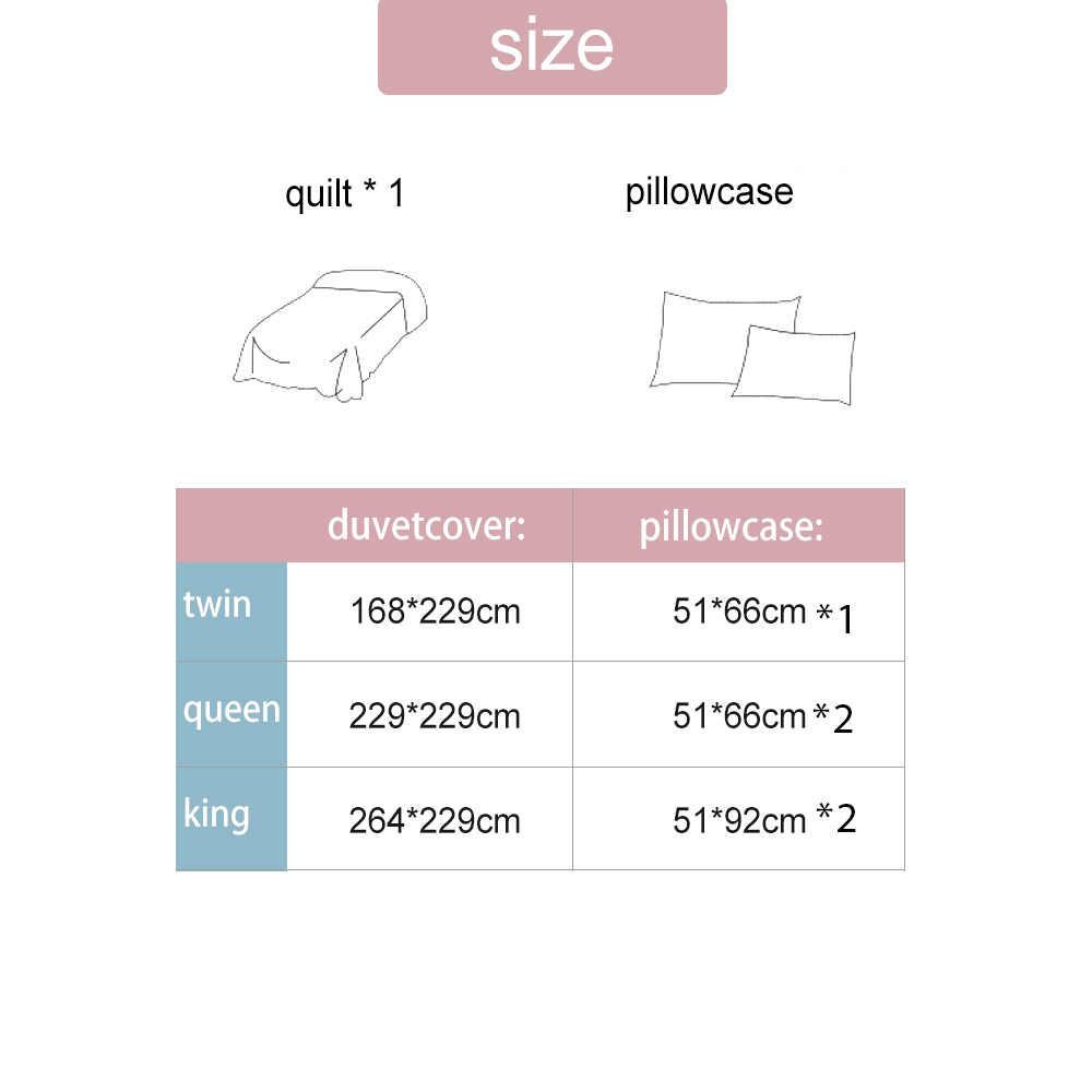 Yimeis 寝具セット綿快適なベッドリネン寝具現代のベッドシーツと枕カバー BE47109