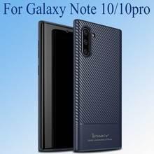 Для samsung Galaxy Note 10 чехол Note10 Plus силиконовый мягкий ТПУ чехол для телефона для samsung Note10