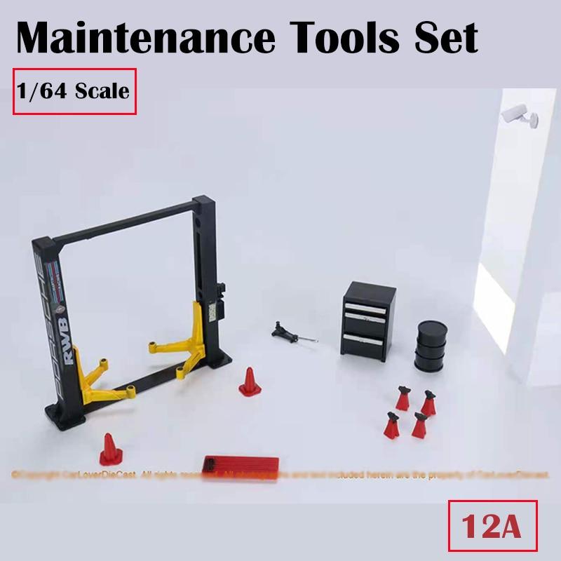 Didisplay 1 64 kit ferramentas para manutenção