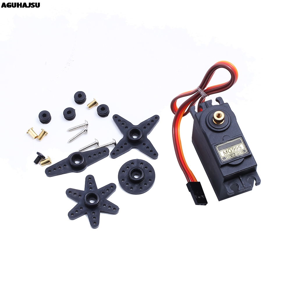 1pcs/lot MG995 55g Servos Digital Metal Gear Rc Car Robot Servo