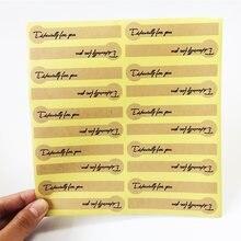 200 Couro Pçs/lote Lollipop Especialmente para Você DIY Scrapbooking Etiqueta Lable Etiquetas Do Presente Etiquetas do Selo de Papel De Embalagens De Padaria