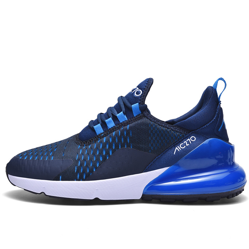 Mens Sneakers 270 Athletic Flyknit Outdoor Running Air Cushion Jogging Shoes