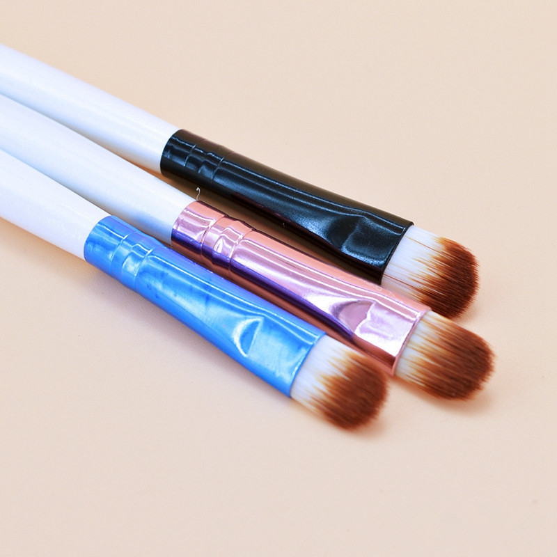 1PC Super Soft Professional Oblique Makeup Eyebrow Brush Eyeshadow Blending Angled Brush Comestic Make up Tool que