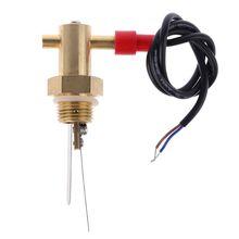 """1 шт. G1/"""" переключатель потока воды DN15 жидкость течёт переключатель 70 Вт латунь для насоса"""