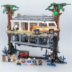 In Stock 75810 Stranger Things Turning The World Upside Down 25010 2499Pcs Building Blocks Bricks Set Christmas Toys