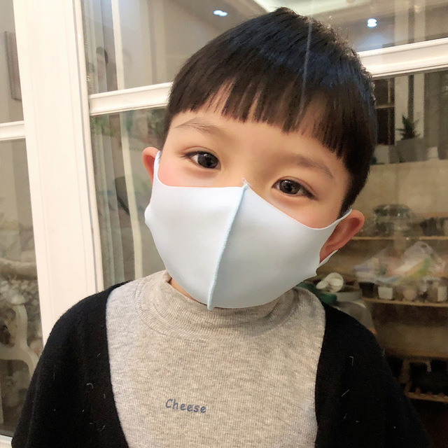 Nano-polyurethane Black Mouth Mask Anti Dust Mask breathable and washable for children Bacteria Proof Flu Face Masks 2