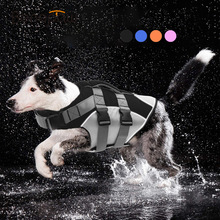 Benepaw Comfortable Dog Life Jacket Reflective Strips Rescue Handle Durable Swimming Vest Dog Summer Clothes Puppy Float Coat