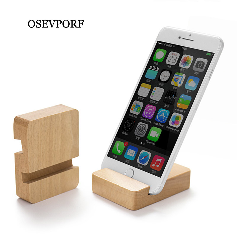 Luxury Phone Holder Stand For IPhone XS XR 7 11 Pro Max Wooden Mobile Phone Stand For Samsung S9 S10 S8 Tablet Desk Phone Holder