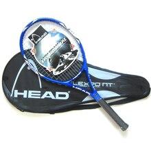 Оригинальные теннисные ракетки для головы, профессиональные ракетки из углеродного волокна с бесплатной сумкой, веревочные ракетки Padel Racchettas Raquete De Tennis