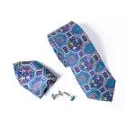 DHL/бесплатная доставка TNT 40 шт 125 стиль галстук оптовая продажа новый модный мужской галстук 100% шелк высокой плотности Пейсли Полосатый галс... - 3