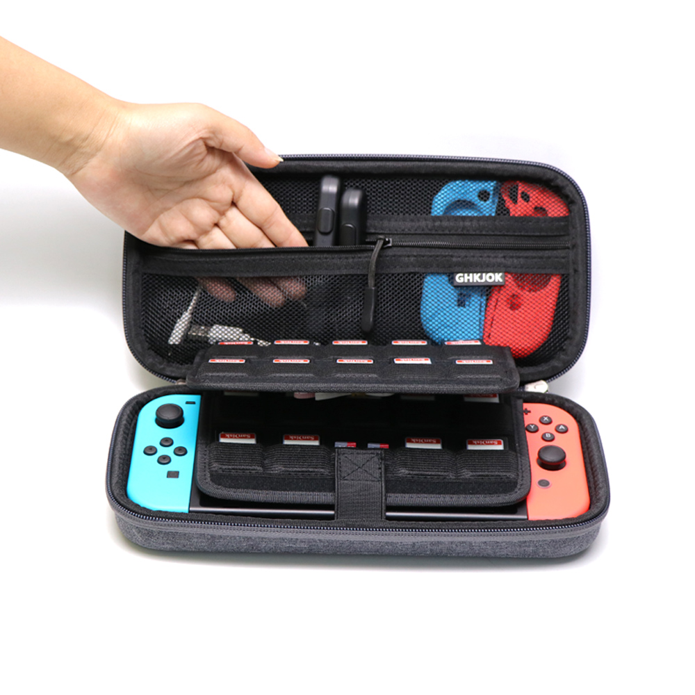 For Nintend Switch Protection Case Shockproof and dustproof Gaming Machine Storage Bag Carrying Hard Case Travel Bag 1