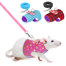 Vest Traction-Rope Hamster Leash Star-Harness Ferrets Rabbit Pet-Rats for Baby Bowknot