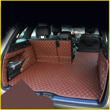 цена на Lsrtw2017 Leather Car Trunk Mat Cargo Liner for Mercedes-Benz GLC-CLASS Glc300 Glc200 Glc250 Glc260 2016 2015 2017 2018 2019