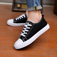 2020 New Women Vulcanized Shoes Breathable Non-slip Casual Canvas