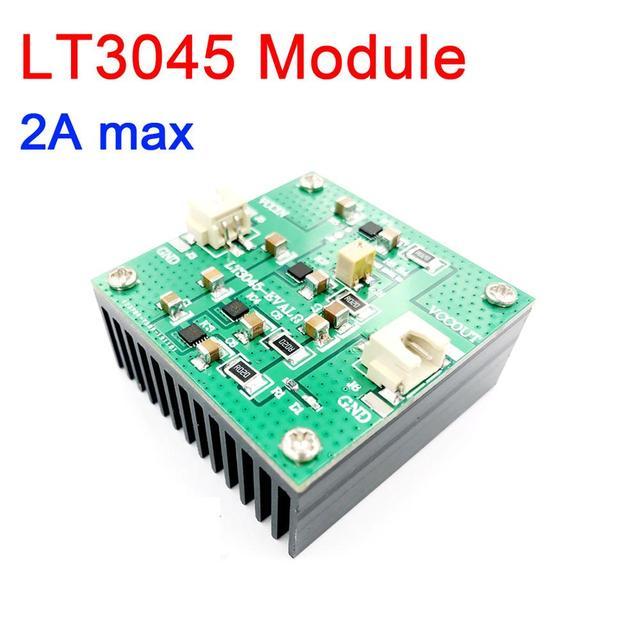 Módulo LT3045 1A 2A eléctrico individual, bajo ruido, lineal, regulado en 1,8 V  20V de salida 0V  15V 3,3 v 3,7 v 5v 6v 9v para amplificador de potencia RF