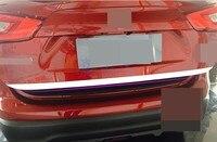 #304 Edelstahl Dampfer Schmücken Trim Panel Auto Styling Für Nissan Qashqai 2016 2017 2018 Zubehör