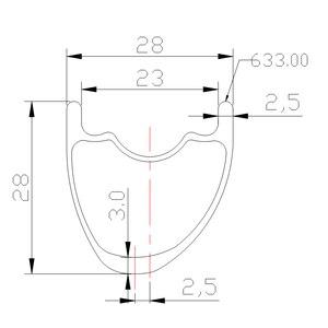 Image 2 - 1350g 29er MTB XC SL BOOST คาร์บอนล้อ 28mm อสมมาตร 28 มม.SUPER LIGHT ยางล้อ 15X110 12X148 10 S 11 S XD 12 S